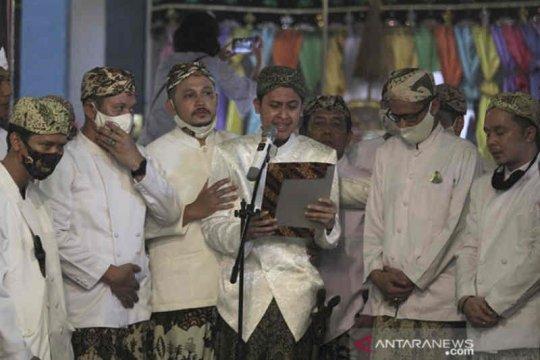 PRA Luqman Zulkaedin resmi jadi Sultan Sepuh XV Keraton Kasepuhan