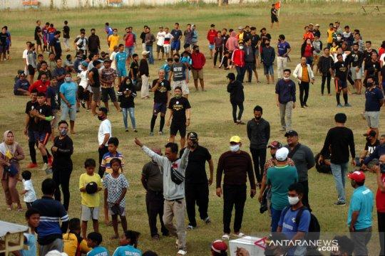 Pertandingan sepakbola di Tegal dibatalkan