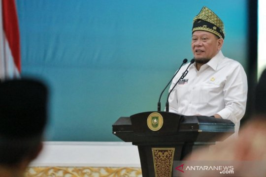 """Di Pekanbaru, LaNyalla kenalkan tagline """"Dari Daerah Untuk Indonesia"""""""
