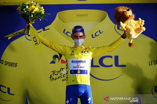Alaphilippe menangi etape dua TdF sekaligus rebut kaus kuning