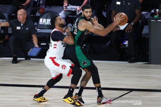 Celtics menangi gim pertama semifinal Timur lawan Raptors