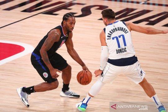 Clippers hentikan perlawanan Mavericks, lanjut ke semifinal Barat