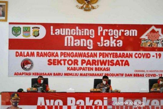 """Program """"Mang Jaka"""" cegah COVID-19 sektor wisata diluncurkan di Bekasi"""