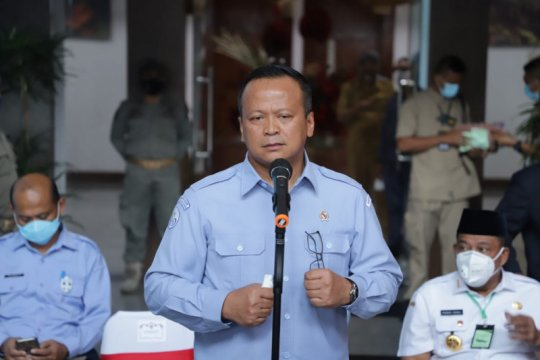 Lantik 30 Penyidik PNS Perikanan, Menteri Edhy sebut KKP tegas
