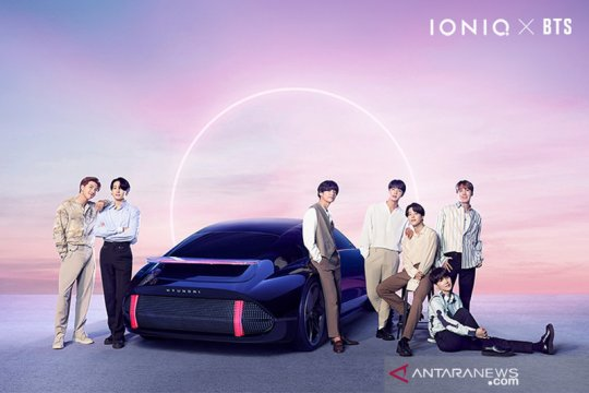 "Hyundai-BTS rilis ""IONIQ: I'm On It"", tayang perdana 2 September"