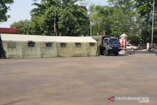 TNI-Polri gelar patroli gabungan antisipasi pengamanan Polsek Ciracas
