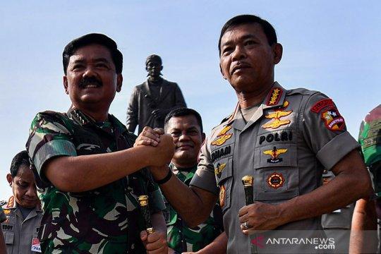 Anggota DPR minta jajaran TNI-Polri contoh kekompakan Panglima-Kapolri