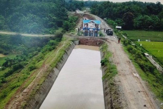 Dukung kemandirian pangan Aceh, PUPR fungsikan irigasi Lhok Guci