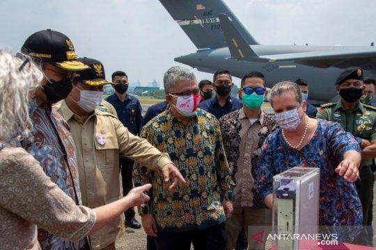 Indonesia terima bantuan 500 unit ventilator COVID-19 dari AS