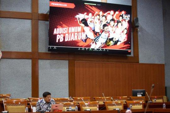 PB Djarum paparkan proses pembinaan atlet di parlemen