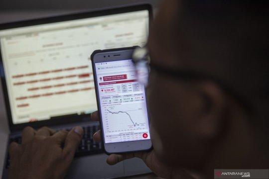 IHSG turun terbawa anjloknya bursa saham AS