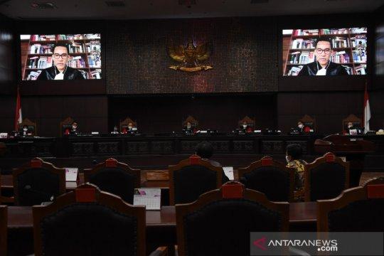 Sidang uji materi UU Pilkada di MK
