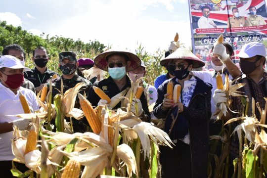 Mentan Syahrul beri semangat petani di Sulawesi Utara, ini ungkapannya
