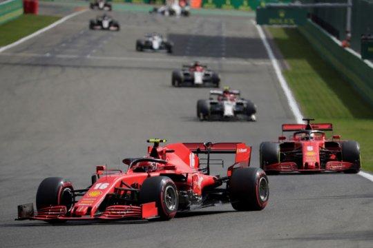 Ferrari alami frustasi di Spa jelang dua balapan di kandang