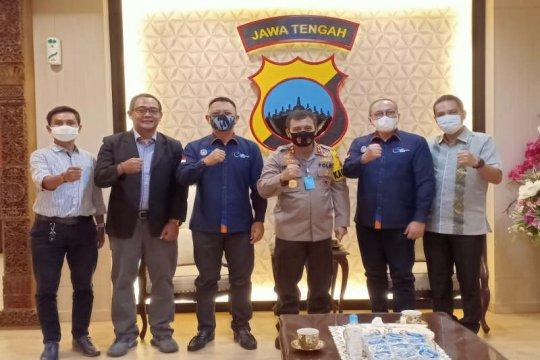PSSI dan PT LIB temui Kapolda Jateng