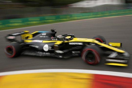 Ricciardo, Ocon tampil impresif, Renault panen poin di GP Belgia
