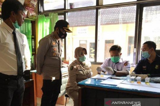 Anggota Polda Sumatera Selatan dites narkoba secara mendadak
