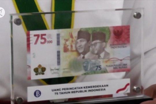 Hanya 4 Juta lembar uang pecahan Rp75 ribu diedarkan di Sumut