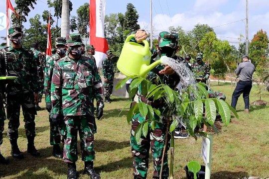 Kodam XII Tanjungpura canangkan penanaman 5.000 pohon