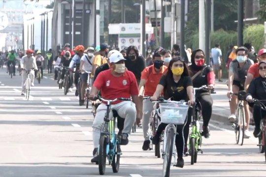 Pemprov DKI tutup 32 kawasan khusus pesepeda