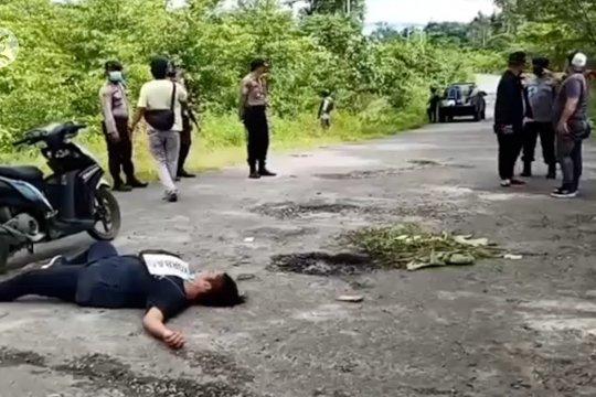 Polisi ragukan keterangan saksi mata kasus pembunuhan staf KPU Yahukimo