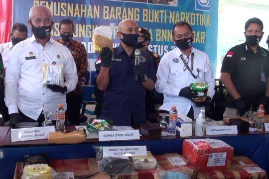 BNNP: Peredaran narkotika di Jabar meningkat selama pandemi