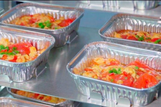 Dapur terotomatisasi di Shanghai gunakan koki robot