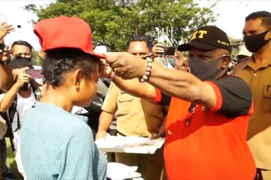 Pemprov Papua libatkan pemuda sebagai agen perubahan