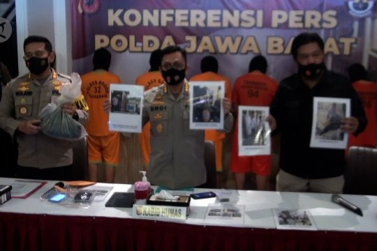 Polda Jabar amankan 7 tersangka pelemparan bom molotov ke kantor PDIP Bogor