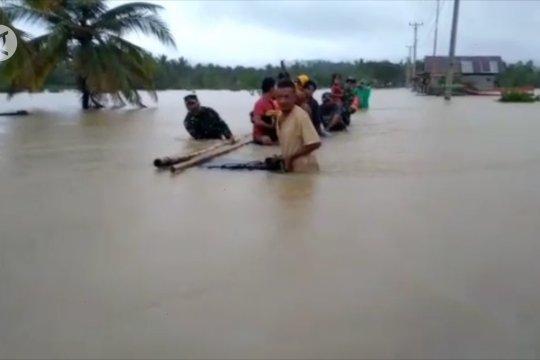 3 Kabupaten di Sulteng dilanda banjir