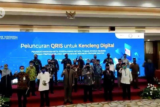 BI Banten resmikan QRIS Kencleng Digital