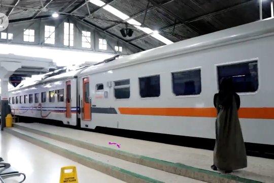 Kedatangan penumpang kereta naik 88 persen