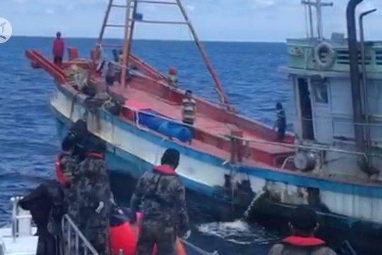 KKP tangkap 71 kapal pencuri ikan dalam 10 bulan