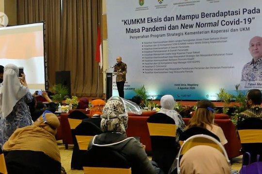 Menkop UKM: UMKM terkoneksi ekosistem digital lebih tahan pandemi