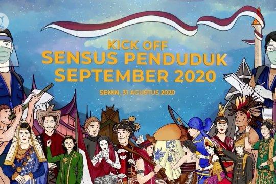Mulai besok, BPS gelar sensus penduduk secara tatap muka