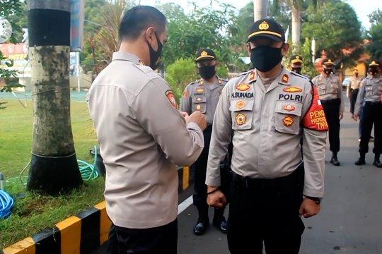 Perketat protokol kesehatan, Provos Polresta Cirebon razia masker