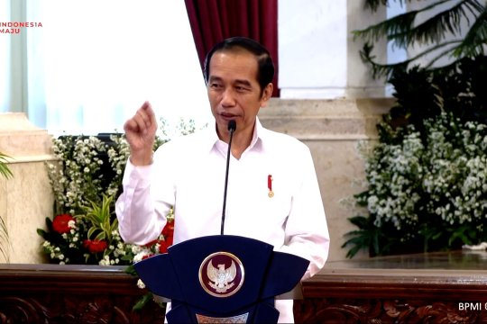Presiden Jokowi luncurkan bantuan subsidi gaji untuk pekerja
