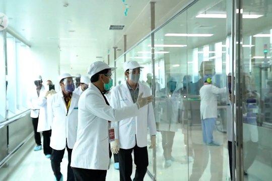 Presiden pantau proses uji klinis dan produksivaksin