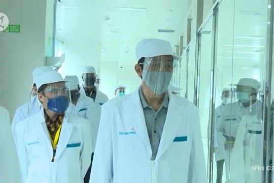 Tinjau Bio Farma, Presiden yakin Indonesia mampu produksi vaksin sendiri