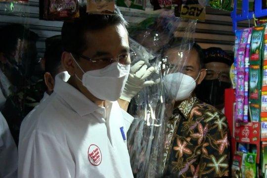 Mendag pantau protokol kesehatan di pasar Kota Cimahi