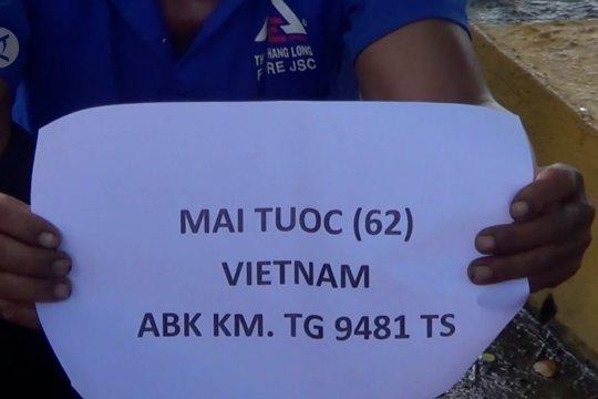 Dua kapal pencuri ikan asal Vietnam ditangkap di Perairan Anambas