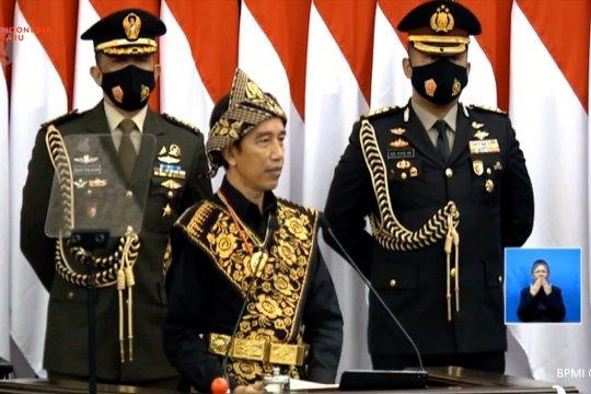 Jokowi: terima kasih dokter dan perawat