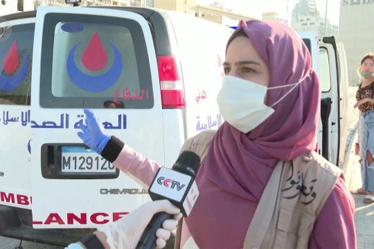 Korban tewas ledakan Beirut naik menjadi 135, dan 5.000 terluka