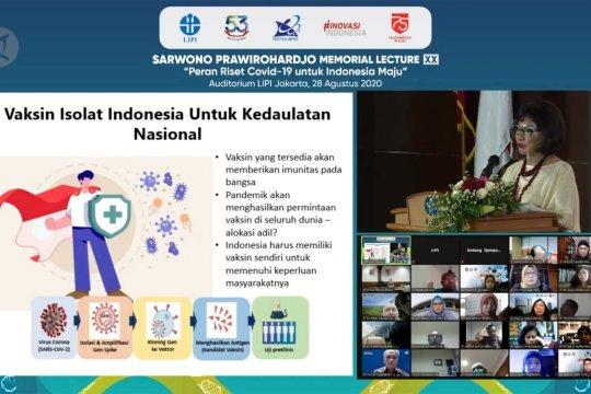 Pakar biologi molekuker: Indonesia perlu membuat vaksin sendiri
