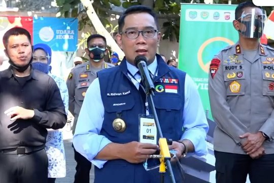 Gubernur Jabar jalani tahapan pertama uji klinis vaksin COVID-19