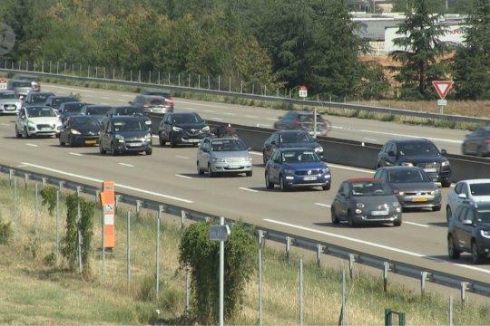 Kemacetan lalu lintas sepanjang 760 km landa Prancis