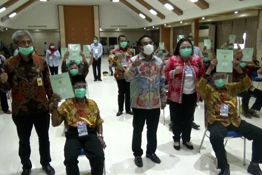 Kementerian ATR/BPN serahkan 500 sertifikat tanah di Kota Tangerang secara virtual