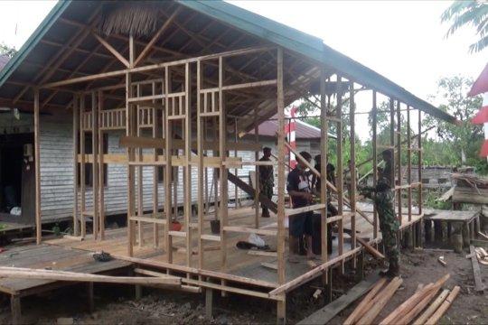 Kodim 1011 Kuala Kapuas wujudkan rumah layak huni