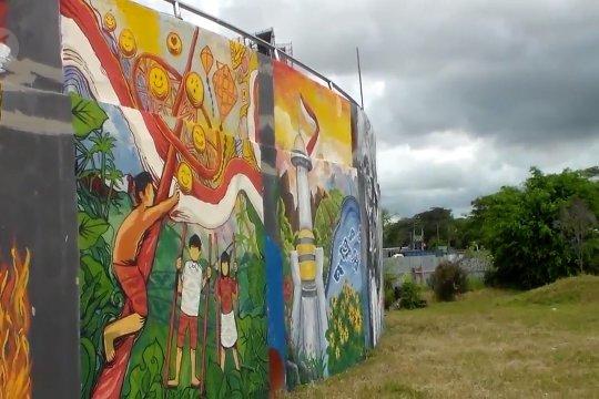 Sampaikan pesan perjuangan lewat mural