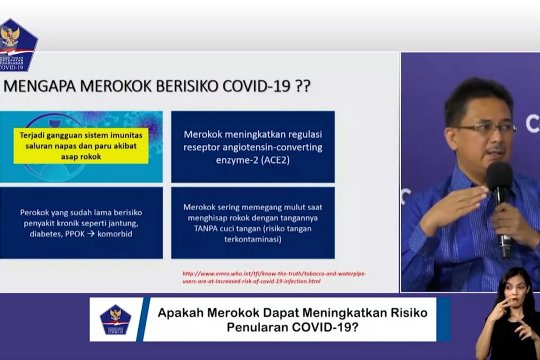 Perokok lima kali berisiko terjangkit COVID-19